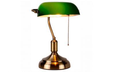 Qu'est-ce qu'une véritable lampe de banquier ?