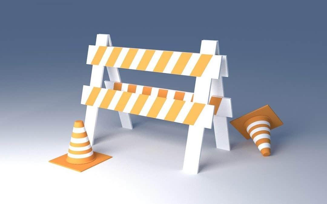 balisage chantier mobile